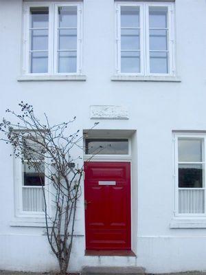 Roter Eingang