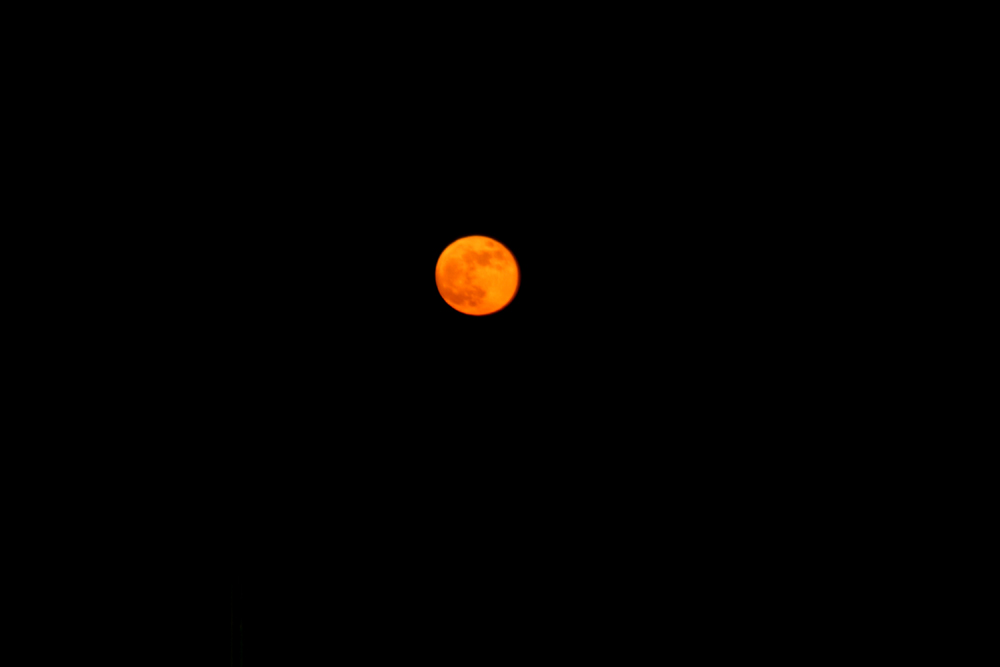 Roter Mond...