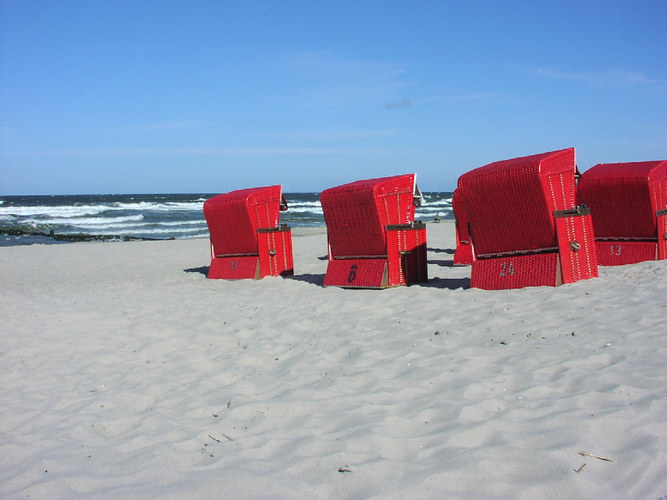 Roter Strand
