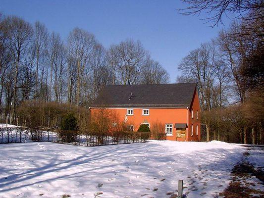 Rotes Haus bei Schloss Homburg (Nümbrecht Oberberg. Kreis)
