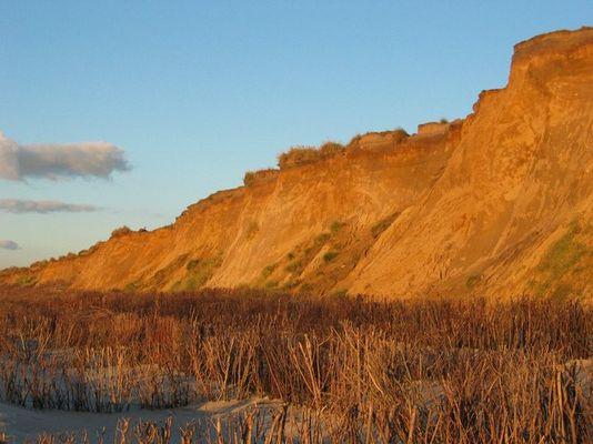 Rotes Kliff in Kampen
