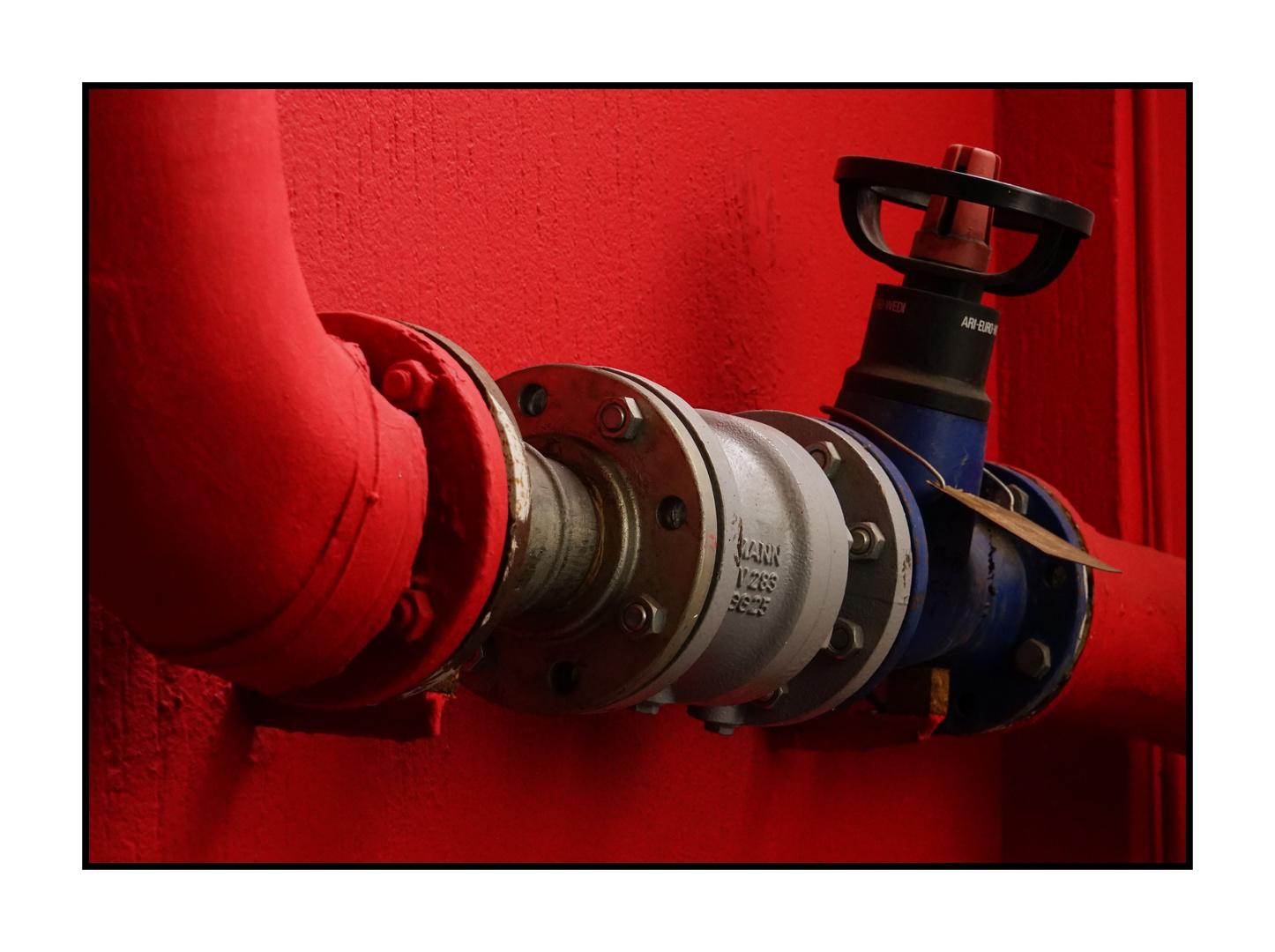 rotes Rohr