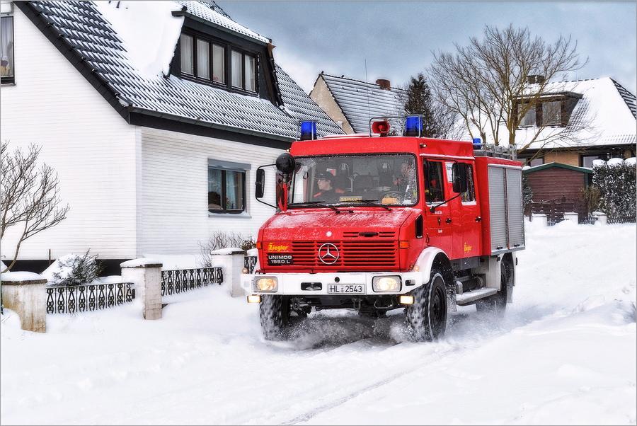 Rotes Spielmobil