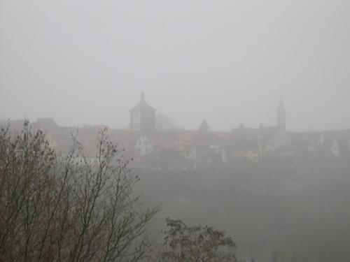 Rothenburg im Nebel