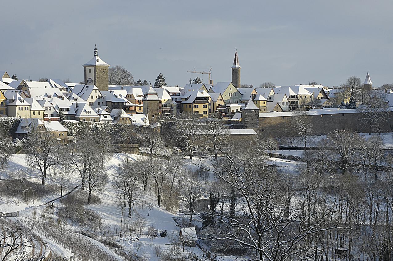 Rothenburg im Winter