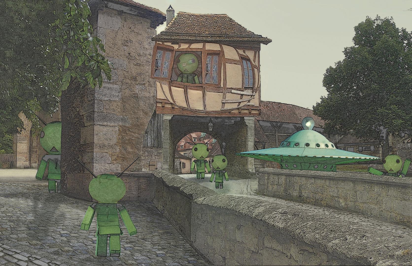 Rothenburg ist bei Touristen sehr beliebt