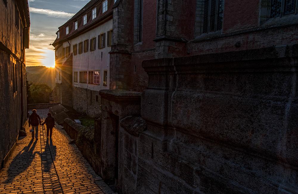 Rothenburg ob der Tauber - im Abendlicht