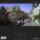 Rothenburg ob der Tauber in 3D: Diaschau mit 96 Stereofotos in HD