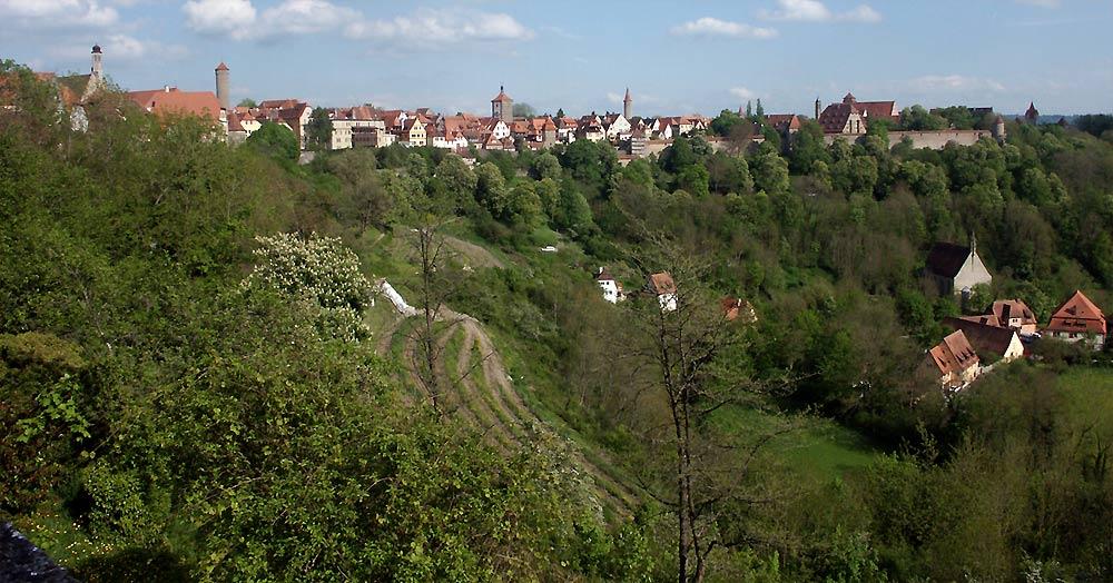 Rothenburg o.d. Tauber und Taubertal