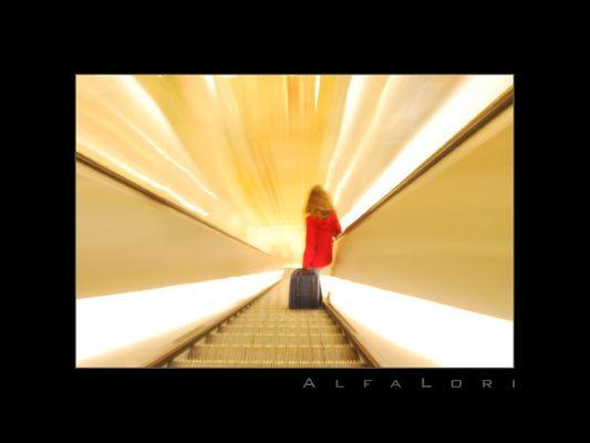 Rotkäppchen Rolltreppe