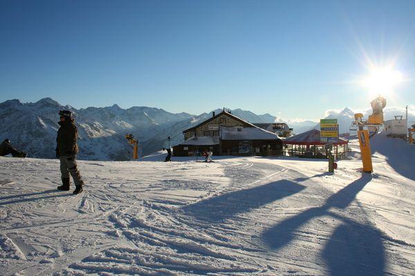 Rotkogeljoch bei Sölden (2650 m)