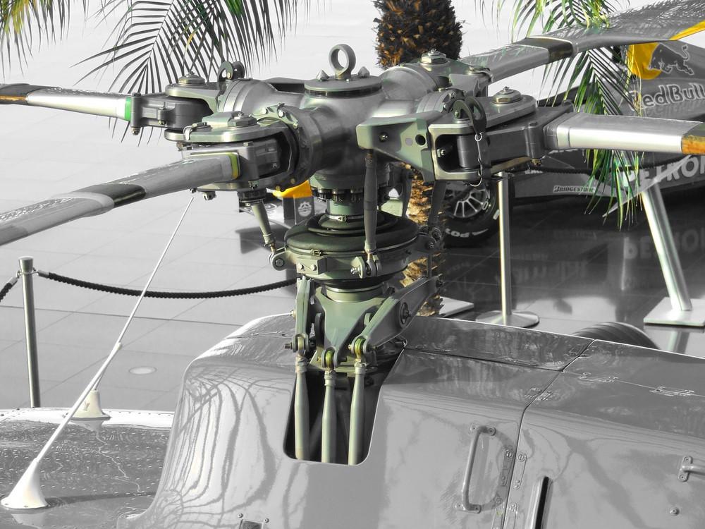 Rotor Hubschrauber