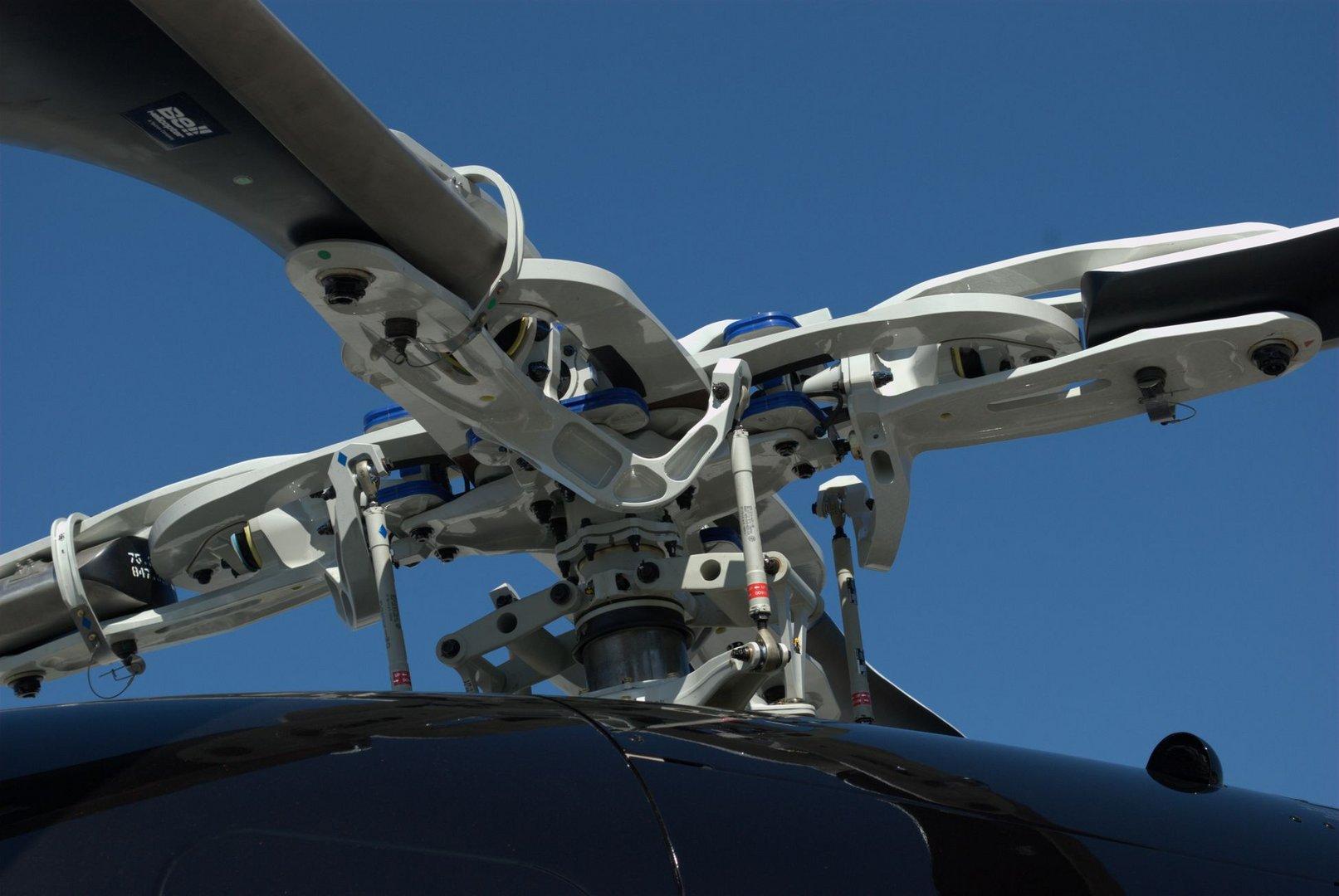 Rotorkopf der Bell 429