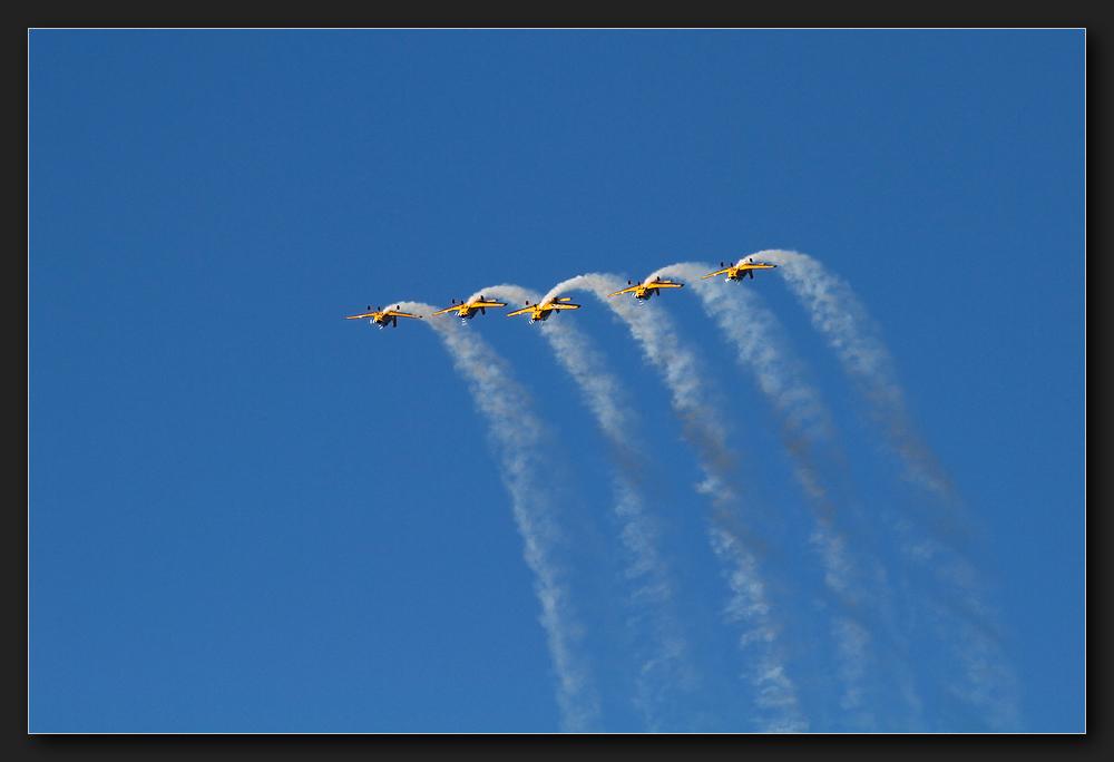 Rotorua - Flugshow