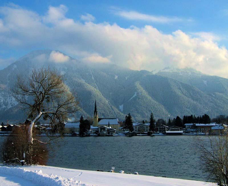 Rottach-Egern im Winter
