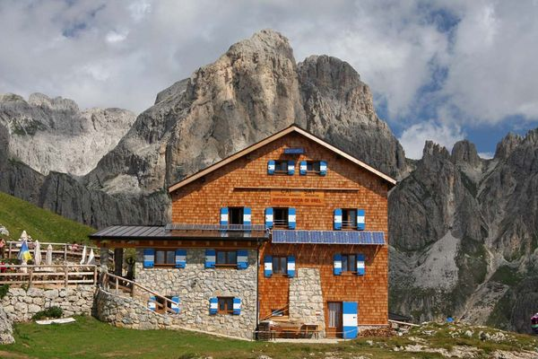 Rotwandhütte / Rif. Roda di Vael, 2.283 m