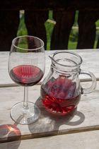 Rotwein im Schnalstal