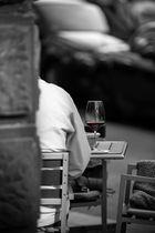 Rotwein und Ruhe