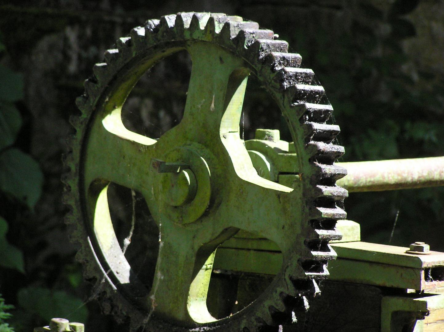 roue dentée d'écluse