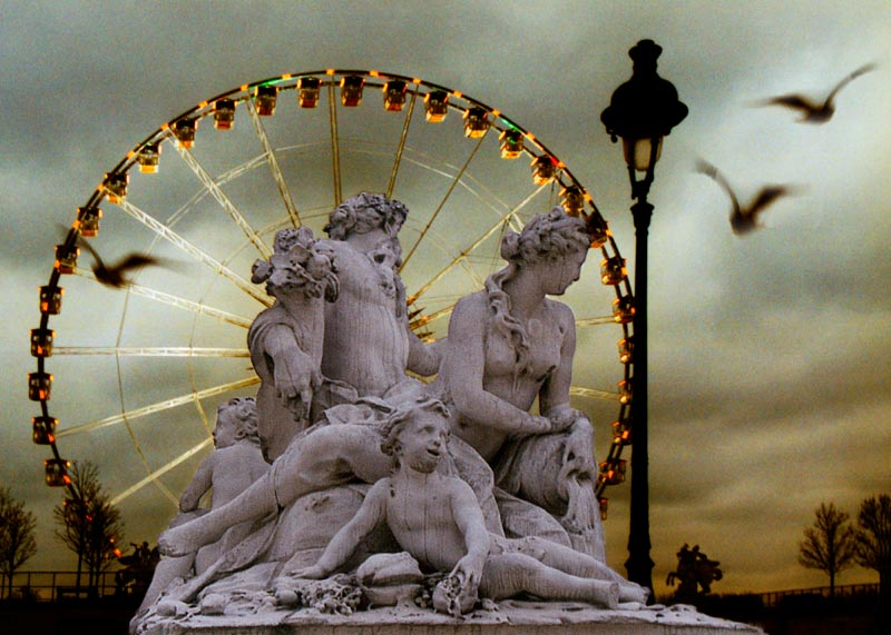 Roue parisienne