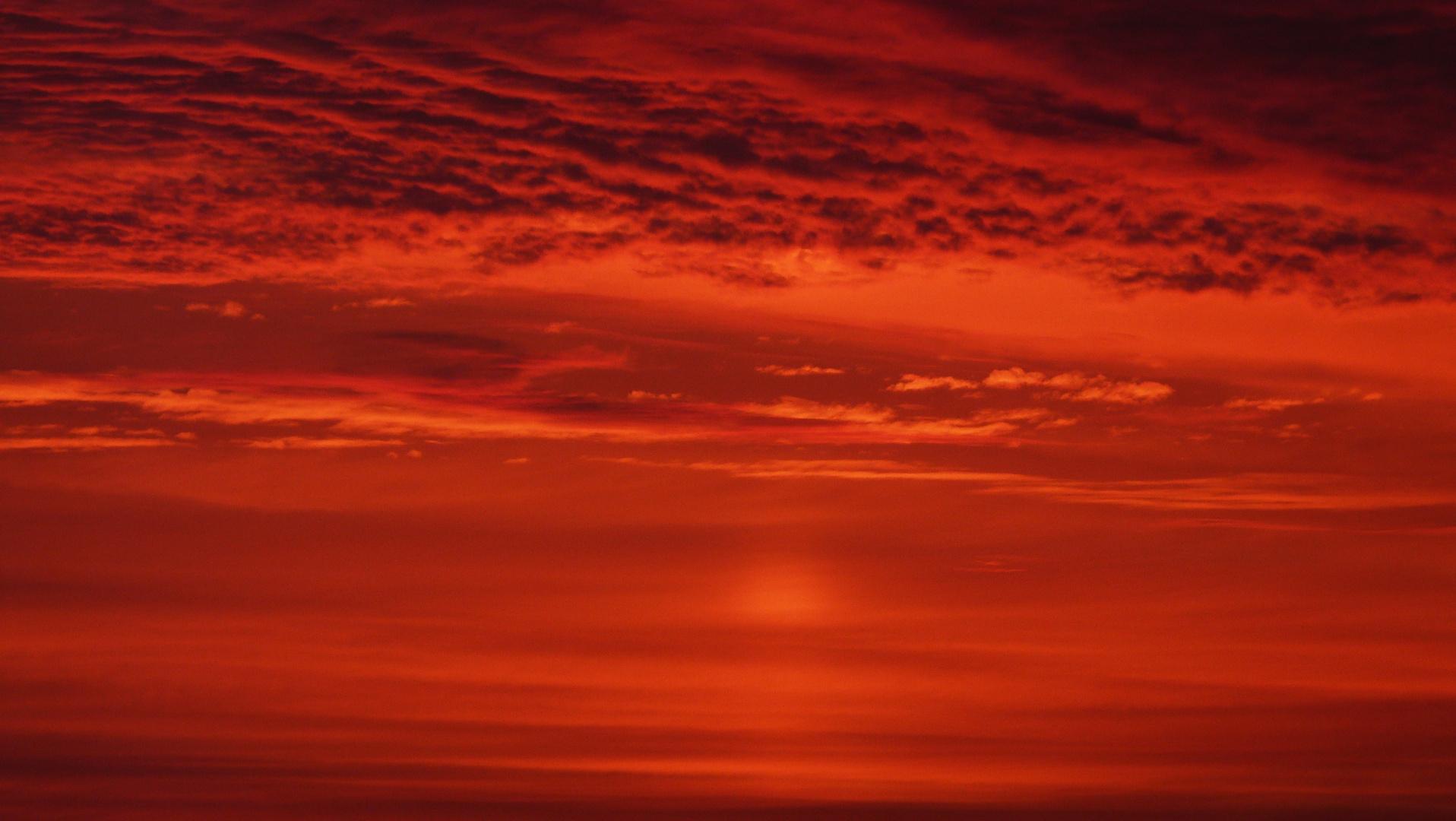 Rouge est le ciel