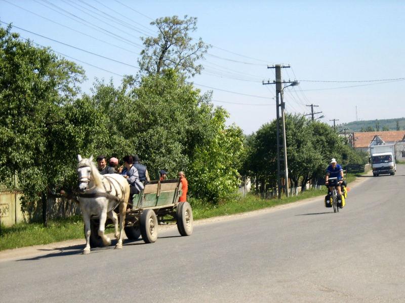 Roumanie, entre Marguita et Alesd
