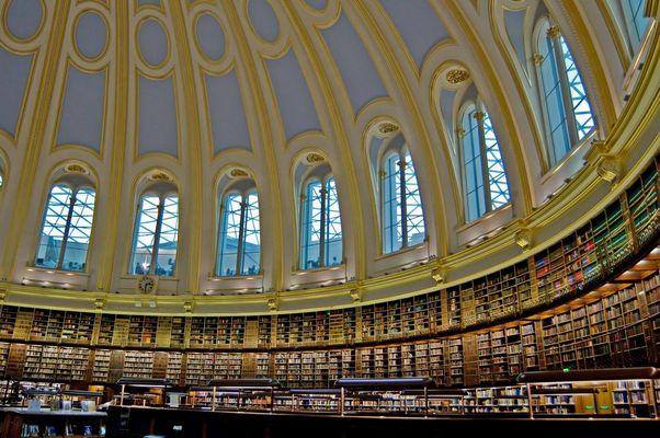Round Reading Room im British Museum