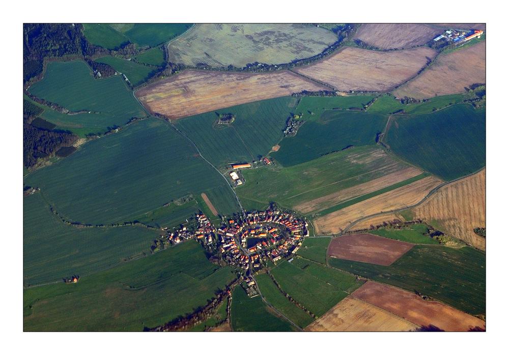 Round settlement - Rundling