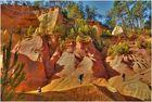 Roussillon-le vie dell'ocra in alta Provenza