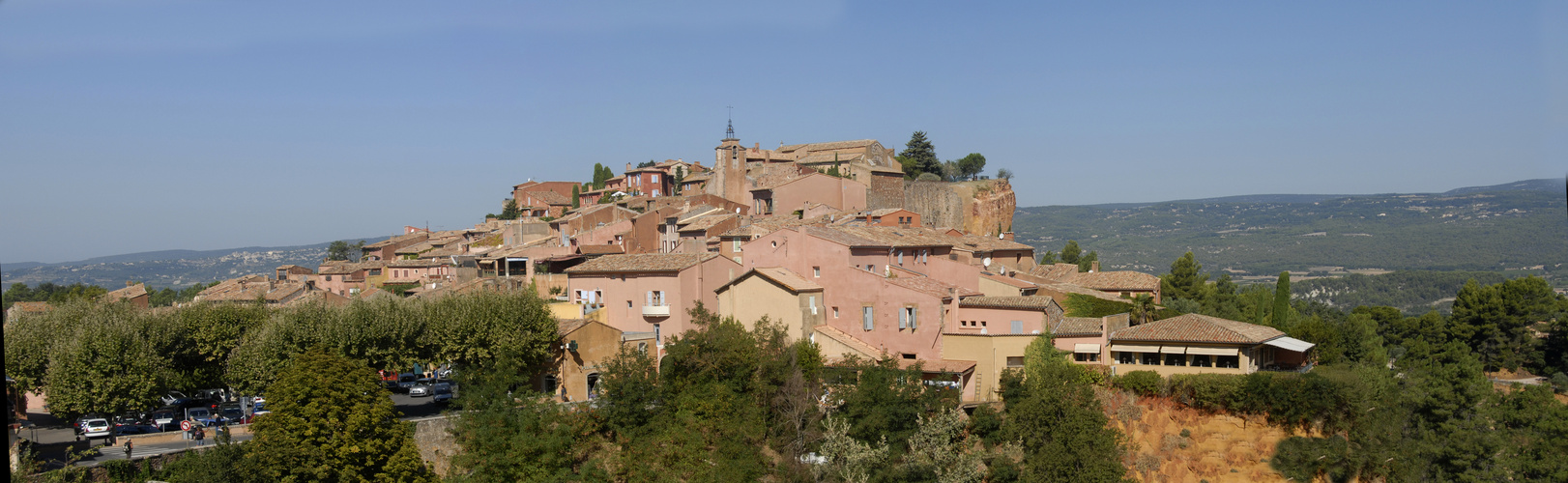 Roussillon panorama