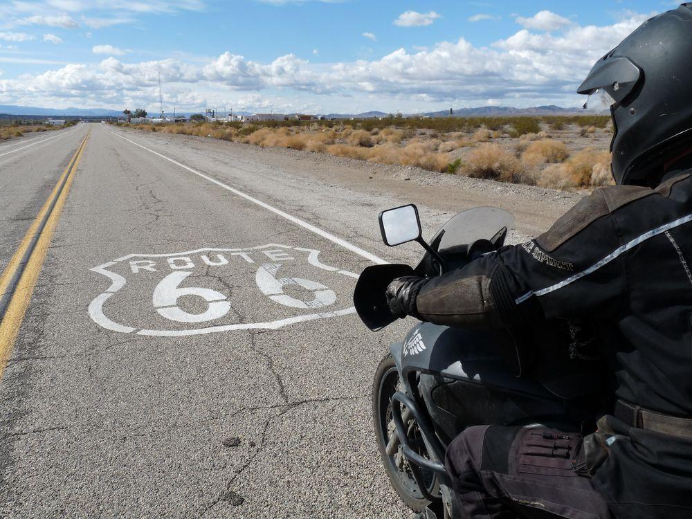Route 66 von Krad-Vagabundin