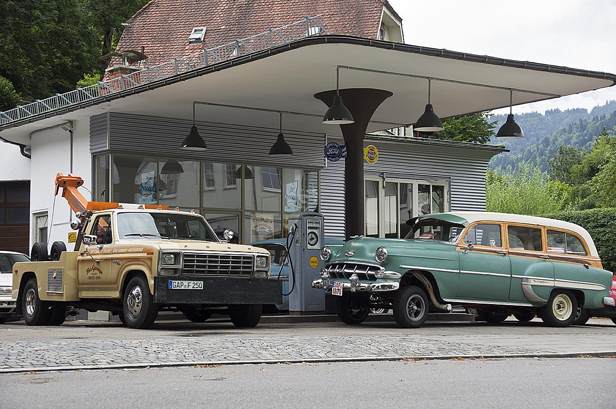 Route 66 oder doch Partenkirchen?