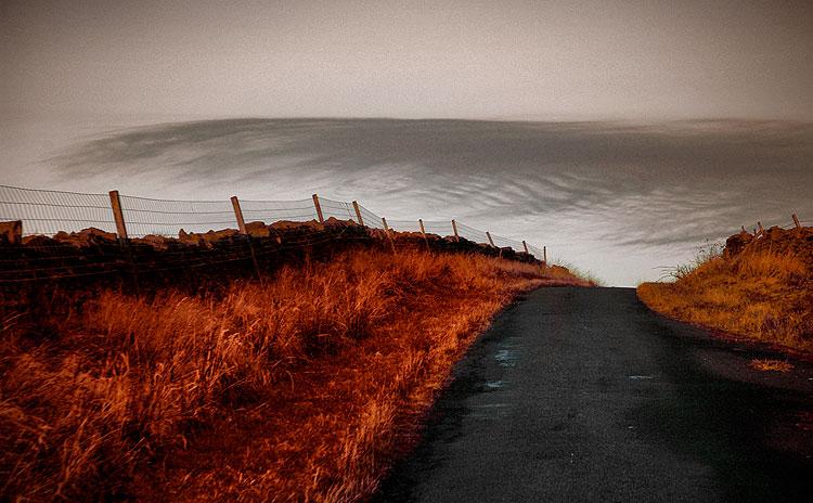 Route dans le Cumbria