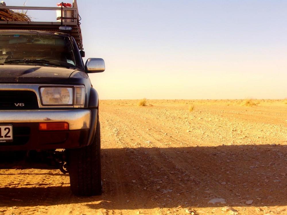 Route de désert
