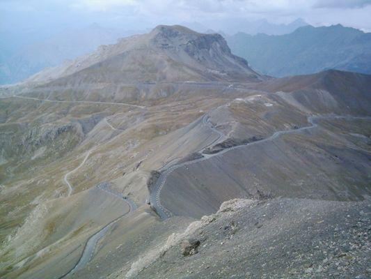 Route de la Bonette - La plus haute d`Europe alt. 2802 m