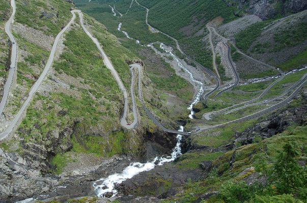 Route des trolls Norvege