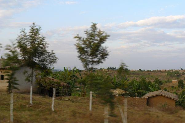 route paysage rwanda