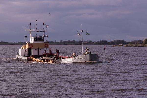 Rouzand Express auf dem Lauwersmeer