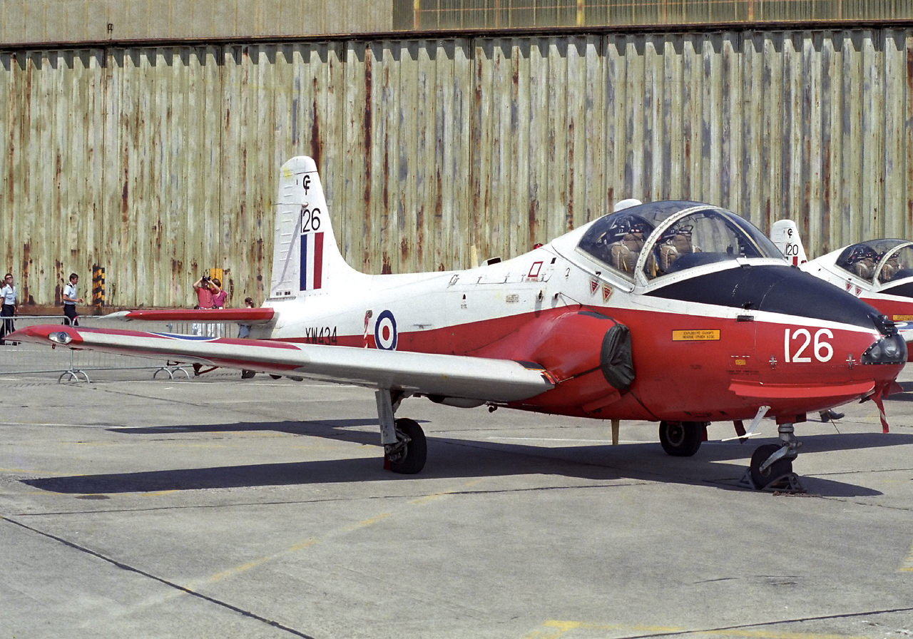 Royal Air Force- Hunting Jet Provost T.5A