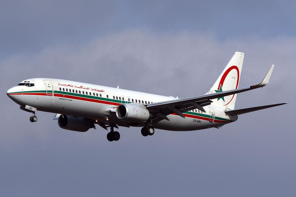 Royal Air Maroc (RAM) Boeing 737-8B6 (CN-RNU)