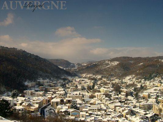 Royat vu d'en haut...Auvergne