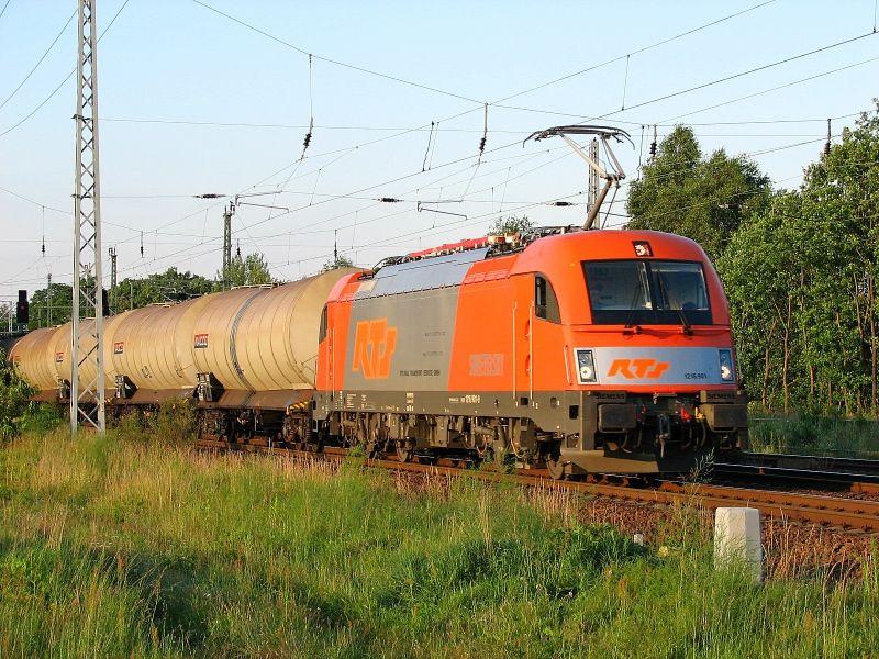 RTS 1216 901 in Deutschland unterwegs
