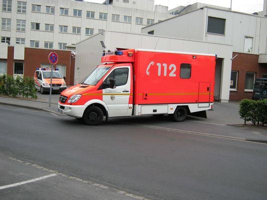 RTW und NEF der RW Schwalmtal