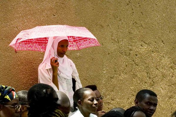 Ruanda, Kigali: Hochzeitsgäste