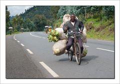 Ruanda - Warentransport