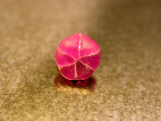 Rubis trapiche - Trapiche ruby