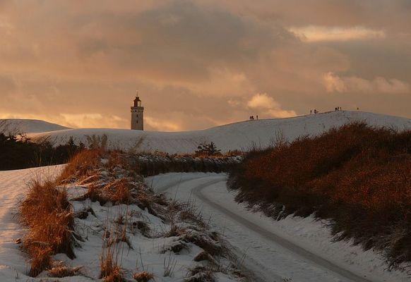Rubjerg im Winter