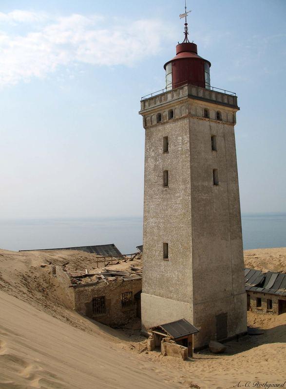 Rubjerg Knude - Verfall im Sand