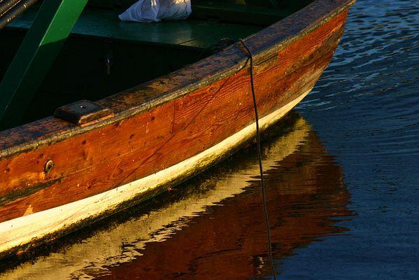 Ruderboot in Stockholm
