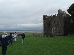 Ruderi di un castello normanno....Galles